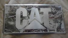 License plate tag Caterpillar CAT Logo Camo plate New