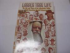 Larger than life The life and times of Lubavitcher Rebbe CONTROVERSIAL Deutsch