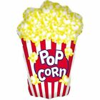 """Hollywood Movie Prom Night Party Decoration 38"""" Giant Popcorn Foil Balloon"""
