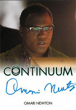 Continuum Seasons 1 and 2 Autograph Card Omari Newton as Lucas Ingram