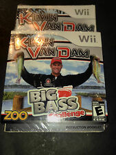 Kevin VanDam: Big Bass Challenge (Nintendo Wii, 2010)Sealed fishing action