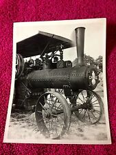 CASE STEAM ENGINE Locomotive TRACTOR  ORIGINAL PHOTO