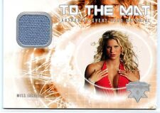 2004 FLEER WWE WRESTLEMANIA XX TO THE MAT MISS JACKIE EVENT USED RING MAT