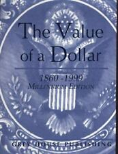 The Value of a Dollar - Millennium Edition-ExLibrary