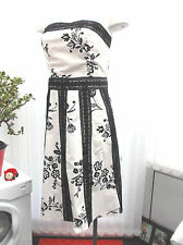 """""""dorothy perkins"""" size 12 black and white summer  dress"""