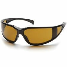 Pyramex Exeter Safety Glasses Shooter's Amber Anti-Fog Lens