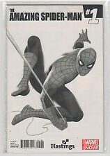 Amazing Spiderman Volume 3 #1 Hastings Steve Epting black and white variant 9.6
