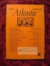 ATLANTIC February 1934 HAROLD J. LASKI WILLIAM TOWNSEND