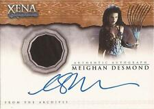 "Xena Beauty & Brawn - AC3 Meighan Desmond as ""Discord"" Autograph Costume Card"