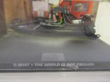 JAMES BOND CARS COLLECTION 082 Q BOAT THE WORLD IS NOT ENOUGH
