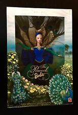 Mattel The Peacock BARBIE Birds of Beauty Collection 1998 First in Series 19365