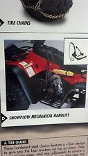 BRAND NEW ARCTIC CAT ATV SNOWPLOW HAND LIFT KIT, FITS 400, 500 PART # 0436-384