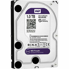 "1TB Western Digital WD Purple 3.5"" HDD Surveillance SATA Hard Drive WD10PURX"