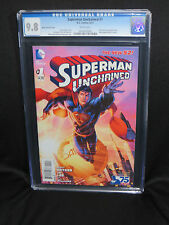 Superman Unchained #1 New 52 CGC 9.8 Brett Booth variant DC comics