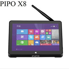 HD PIPO X8 tv box Windows 8.1 Android 4.4 Dual OS Z3736F  32GB Quad Core Mini PC