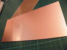 100 x 220mm Copper Clad PCB FR2 Laminate Single Side Budget Quality Board