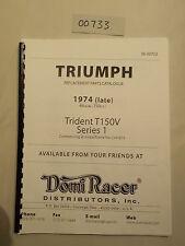 Triumph 1974 Trophy Trail TR5T serie 1.00773