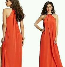 NWT GUESS by marciano red Josanna Knit Maxi Dress gown size S