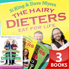 Hairy Bikers Collection, 3 Books Set (The Hairy Dieters, The Hairy Dieters Eat )