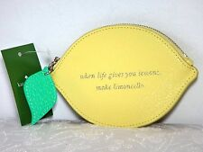 NWT Kate Spade Lemon Street Coin Purse, Limoncello