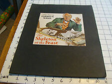 Vintage Printing Sample H L PARKHURST: the SKELETON at the FEASTcarolyn wells