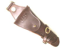 WWI US Army AEF M1912 Leather Swivel Holster Colt M1911 .45acp Pistol - Repro
