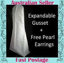 Wedding Dress Storage Bag - Breathable XL WITH MUST HAVE EXPANDABLE GUSSET