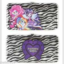 My Little Pony Equestria Girls Hardcase Wallet Hasbro Pinkie Pie Rainbow Dash