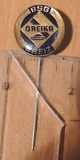 Football Club BSG Greika Greiz old badge pin anstecknadel