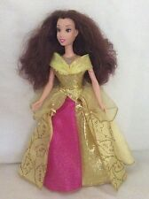 Barbie Doll In Gorgeous Gold/Pink Dress/Gold Shoes Aurburn Hair