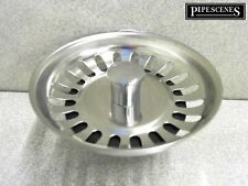 Kitchen Sink Strainer Waste Plug. McAlpine BWSTSS-TOP