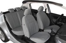 Autositzbezüge Sitzbezüge Schonbezüge Kunstleder  Universal Mercedes GRAU