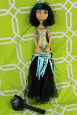 Monster High Cleo De Nile Ghouls Rule Doll with Brush