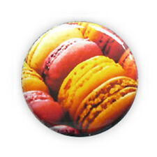 Button Pin Badge FRENCH MACARON Paris macarons Yummy cookie cake 1inch Ø25mm