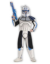 "Star Wars Kid Clone Wars Trooper Cap Rex Costume S2, L,Age 8-10,HEIGHT 4' 8""- 5'"