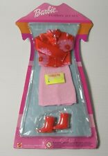 Vintage 2001 Mattel BARBIE Fashion Avenue Kimono Top Skirt Dress Outfit Boots