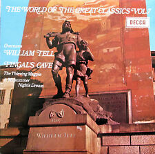 SPA 92 Peter Maag Overtures William Tell Fingals Cave etc NEAR MINT Decca Stereo