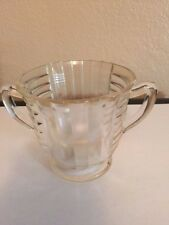 Vintage/Antique Cut Glass Sugar Bowl - EUC