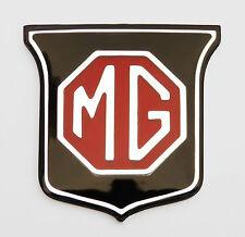 MGB & MGBGT/MGB GT Rosso & Nero anteriore griglia Badge, MG parte ara2148