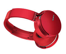 Sony MDR-XB950BT/R Extra Bass Bluetooth Wireless Headphone, MDRXB950BT/R Red
