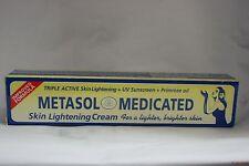 METASOL Skin Lightning Cream 1.76 oz For A Lighter, Brighter Skin