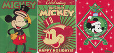 Genuine Swap / Playing Card- 3 SINGLE MINIATURES - MICKEY MOUSE