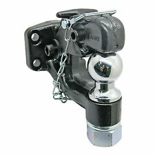 New Heavy Duty 8 Ton Ball Combo Tow Pintle Hook Hitch Towing 4WD Truck Trailer