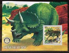 Dinosaurier Prehistoric Animals Dinosaurs Eritrea  2002 MNH ** KB Sheet