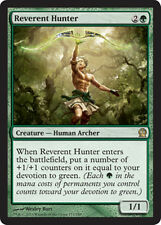 mtg GREEN DECK Magic the Gathering theros devotion reverent hunter rare card NM