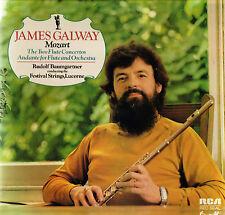 """JAMES GALWAY Mozart RUDOLF BAUMGARTNER 12"""" LP  RCA RED SEAL UK 1976 LRL1 5109"""