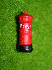 Miniatures Mid 20th Century Era Royal Mail Red Pillar Post Box Doll Houses