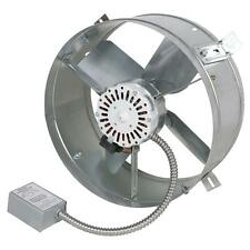 Electric Powered Attic Exhaust Fan Vent Gable Mount Hot Air Ventilator 1300 CFM