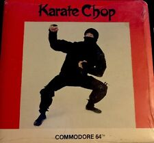 Karate Chop Commodore RARE Action Game by Spinnaker Software C C- 64 128 SX-64 *