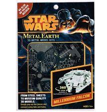 Metal Earth STAR WARS MILLENNIUM FALCON 3D Laser Cut Steel Model Kit